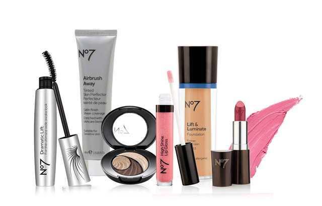 Best Drugstore makeup Brands - No7 Makeup
