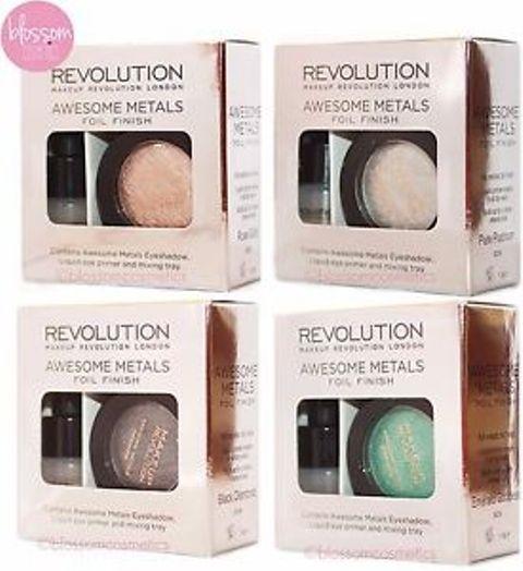 Best Makeup Revolution Makeup Products - Metal Foil Eye Shadows