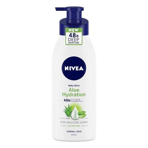 Best Body Lotion For Summers- Nivea Aloe Fresh Body Lotion