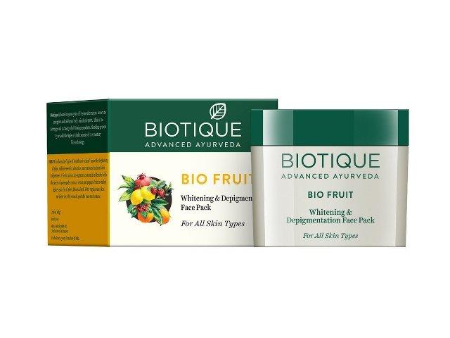 Best Tan Removal face pack - Biotique BioFruit Depigmentation Face Pack