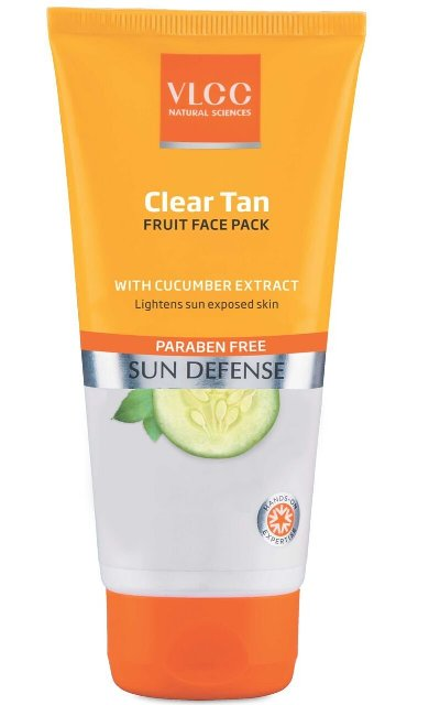 Best Tan Removal face pack - VLCC Clear Tan Fruit Face Pack