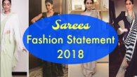 Saree Fashion Statement 2018