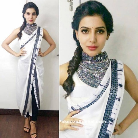 Saree Fashion Trend 2018 -Dhoti Style Saree