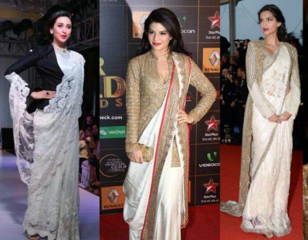 Saree Fashion Trend 2018 -Jackets-on-sarees