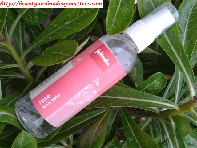 FabIndia-Facial-Rose-Water-Review