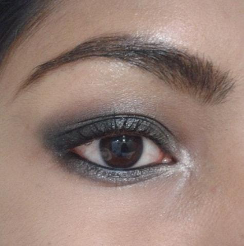 NYX-Eyebrow-Cake-Powder-Dark-Brown-Brown EOTD