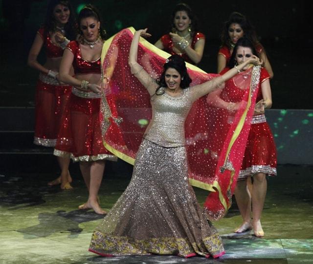 Sridevi @ IIFA Awards 2013 - Dance Performance