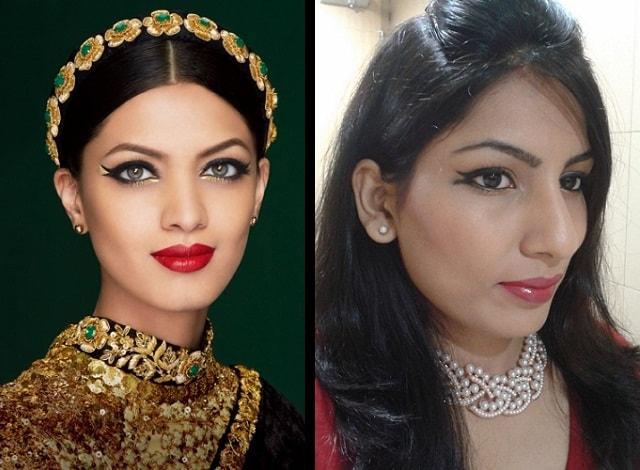 Lakme Sabhyasachi Collection Inspired Eye Makeup