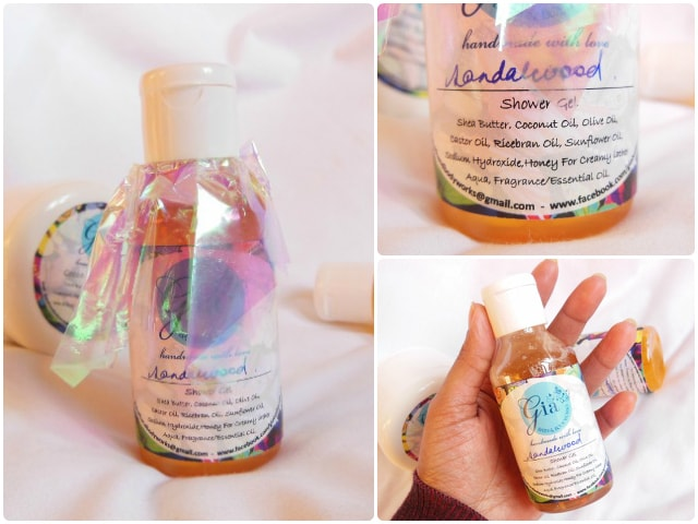 Gia Bath and Body Works Shower Gel - Sandalwood Review