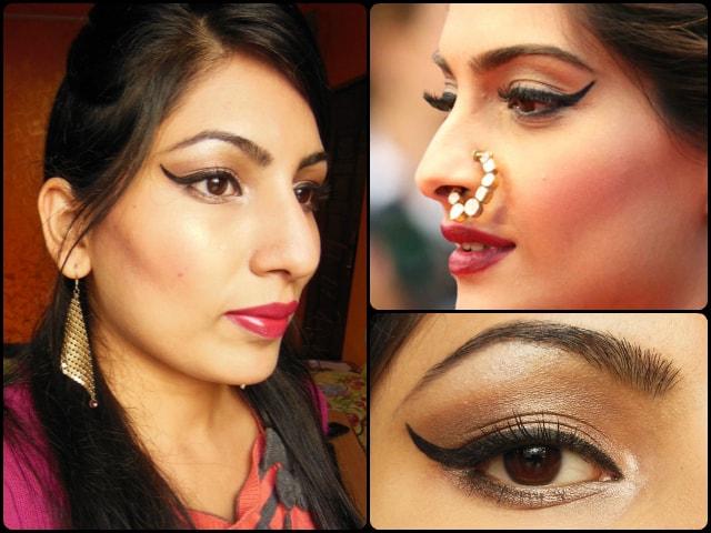 Sonam Kapoor Cannes 2013 Inspired Eye Makeup Tutorial
