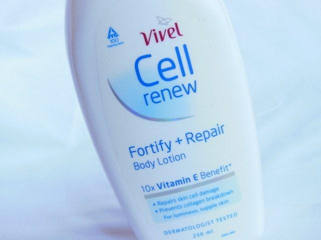 Vivel Cell Renew Body Lotion