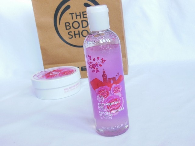 The Body Shop Atlas Mountain Rose Bathing Gel