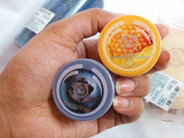 The Body Shop Shopping- BlueBerry Lip Butter