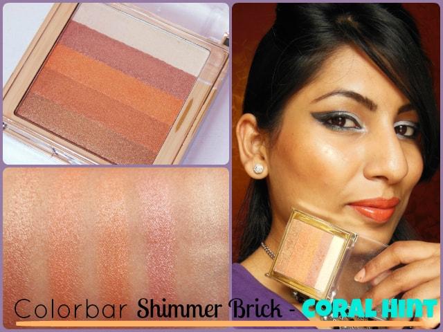 Colorbar Shimmer Brick Coral Hint Look