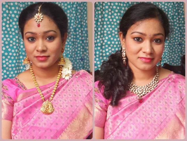 Traditional South Indian Wedding Makeup Look