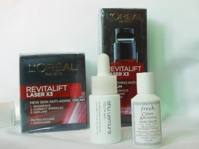 Birthday Haul - Shu Umera, Loreal and Fresh Toner