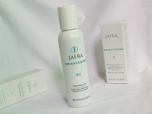 Jafra Brightening facial Toner Review