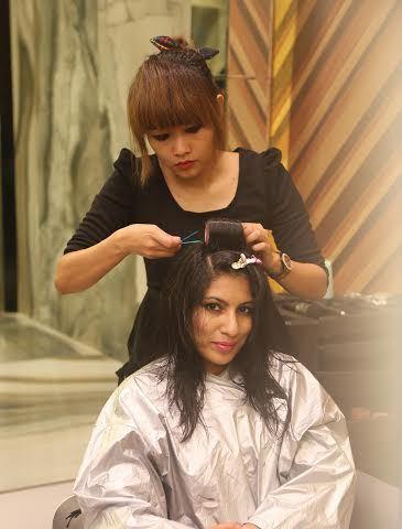 Haircut at Geetanjali Saloon