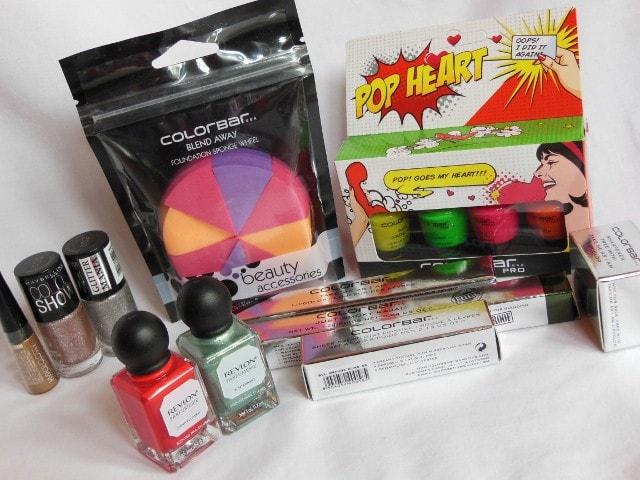 Mini Drugstore Makeup Haul - Maybelline, Colorbar Cosmetics and Revlon