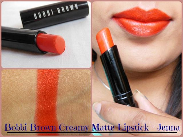 Bobbi Brown Creamy Matte Lipstick Jenna Look