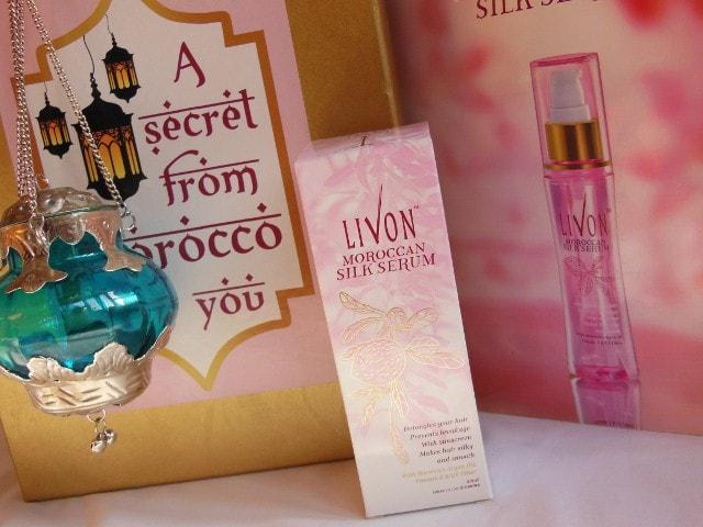 Livon Moroccon Silk Serum With Argan Oil