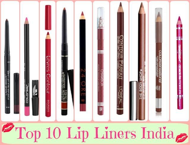 10 Best Lip Liner Brands India