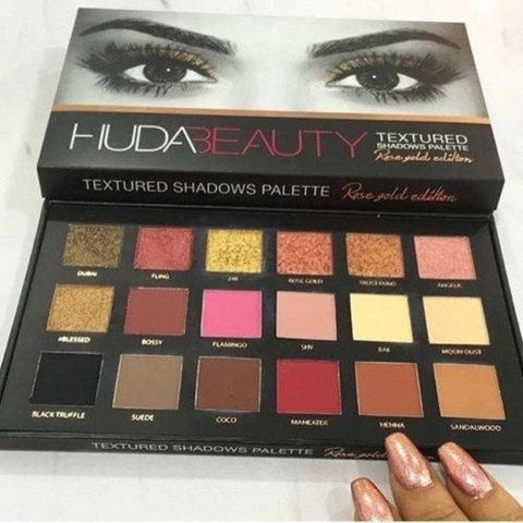 Best Eyeshadow Palette India - Hudabeauty Rose Gold Palette