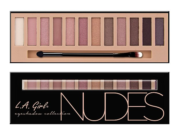 Best Eyeshadow Palette India - LA girl Beauty Brick eye shadow palette Nudes