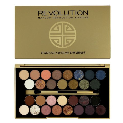 Best Eyeshadow Palette India - Makeup revolution Fortune Favors the Brave