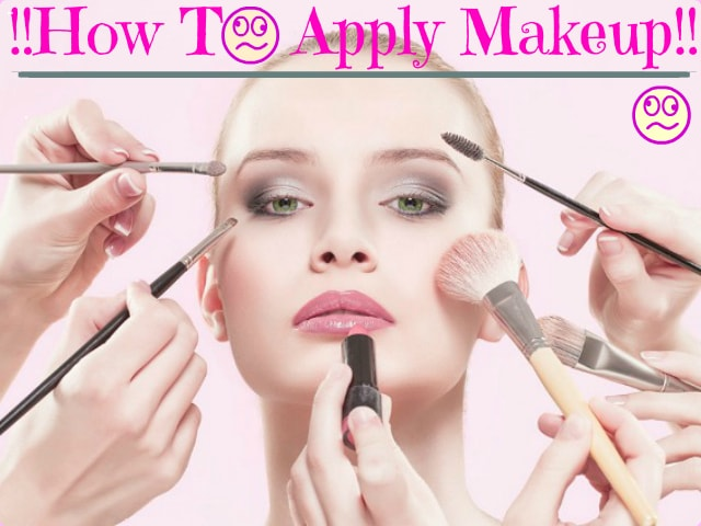 How to Apply Makeup - Tips