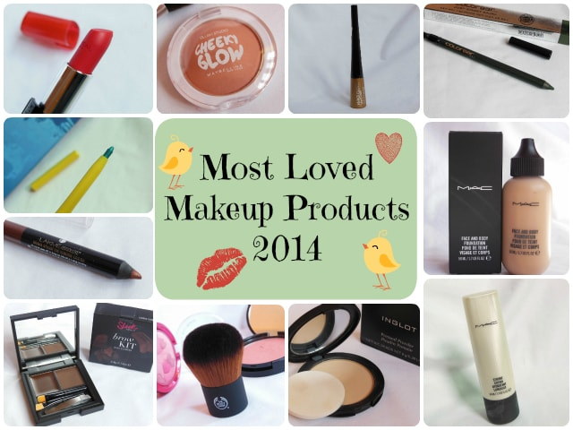 Most Loved Makeup Products 2014
