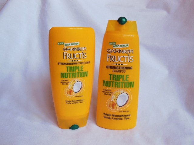 Garnier Fructis Triple Nutrition Shampoo and Conditioner - My Hair Story