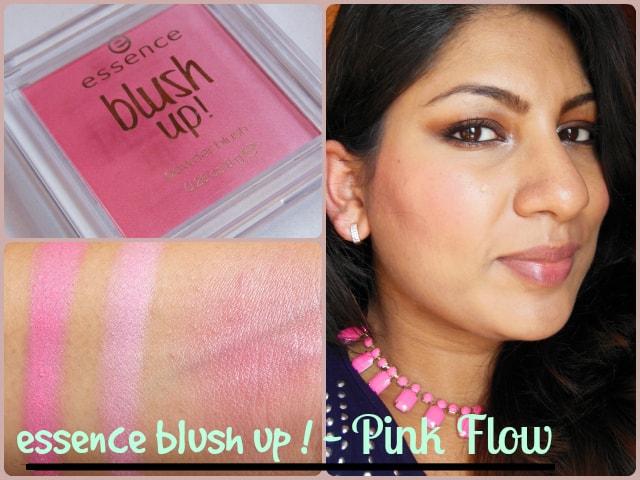 Essence Blush Up Pink Flow Powder Blush Look