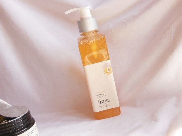 Iraya White Lotus Soothing Body Wash Packaging
