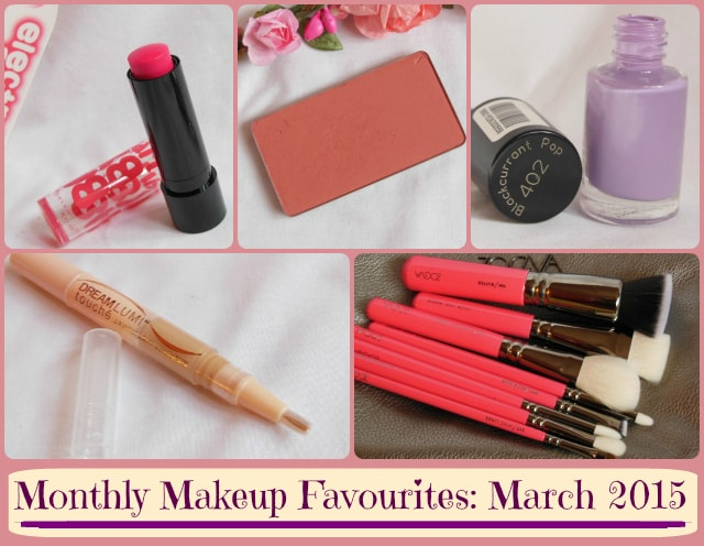 Monthly Makeup Favourites - March 2015