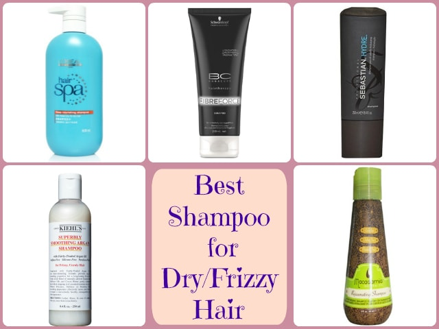 Best Shampoo for Dry Frizzy Hair