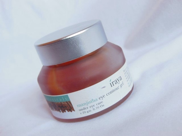 Iraya Manjistha Eye Contour Gel Review
