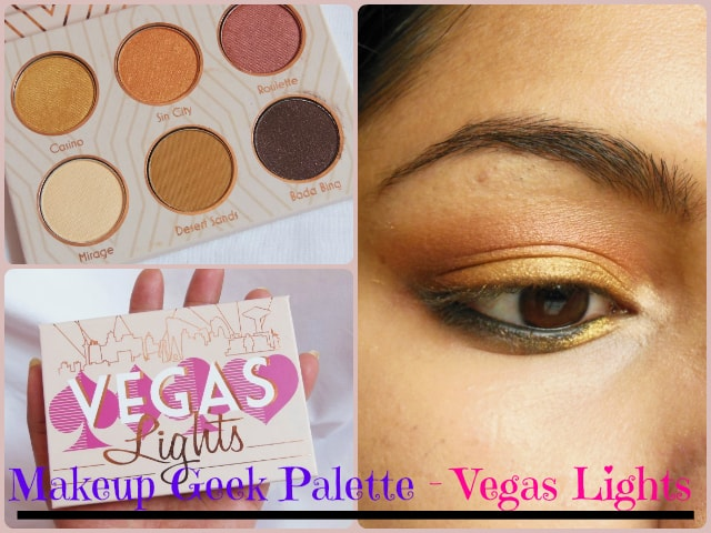 Makeup Geek Vegas Lights Palette Look