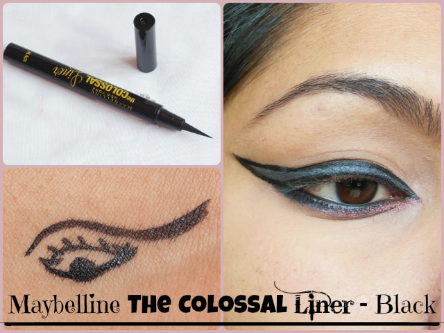 Maybelline The Colossal Liner Black Look
