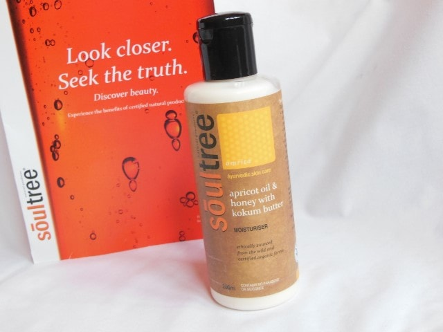 Soultree Apricot oil and Honey Moistuirser