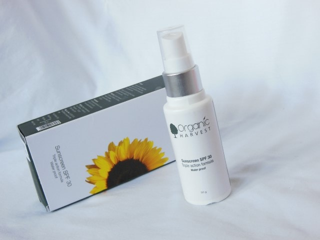 Organic Harvest Sunscreen SPF 30 Review