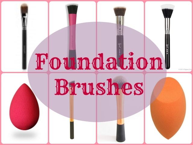 Makeup Brushes Guide - Foundation Brushes