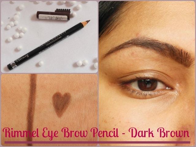 Rimmel Eye Brow Pencil - Dark Brown Look