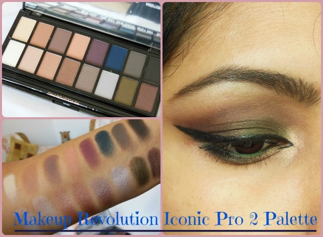 Makeup Revolution Iconic Pro2 Palette Look