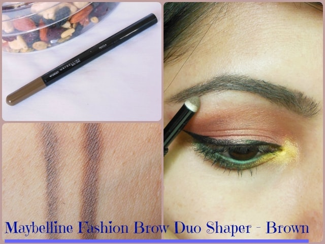 Maybelline Fashion brow Duo Shaper Brown Look