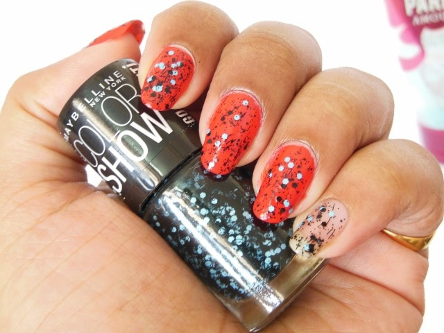 Glam Up Nails With Maybelline Colorshow Go Graffiti Blue Beats Beauty Fashion Lifestyle Blog