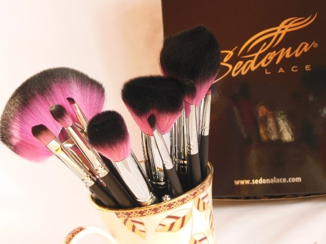 Sedona Lace Vortex Synthetic Professional Makeup Brush Set