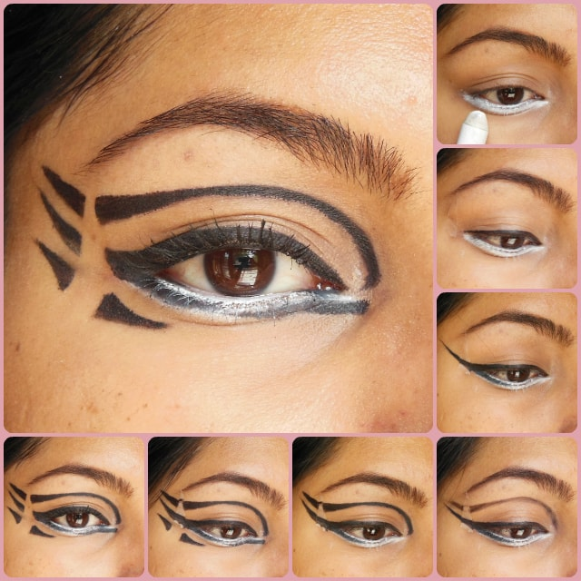 Eye Makeup Tutorial - Pixiwoos Inspired Graphic Eyes