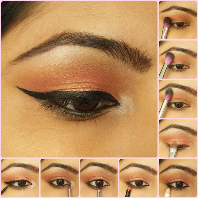 Eye Makeup Tutorial -Rose Gold Eyes