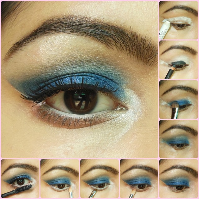 Eye Makeup Tutorial - Royal Blue Eyes